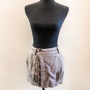 *NEVER WORN* BCBG Tweed Button Down Mini Skirt